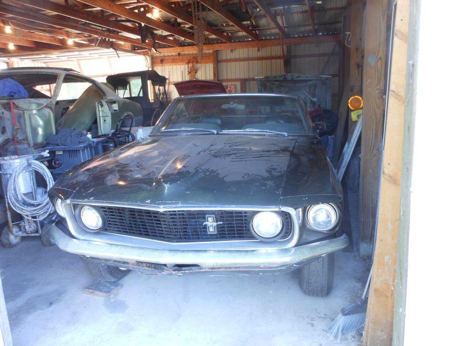 Mustang Craftsmen - Classic Car Restoration - 1969 Red GT Convertible