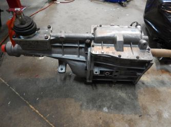 Tremec 5 speed or AOD automatic with overdrive transmission