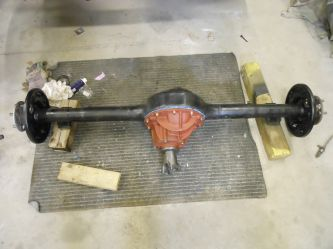 Posi traction rear axle.