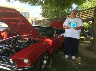 Trophy winning 1969 Red Mustang GT Convertible, Indiana
