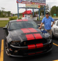 Paul with his Shelby 2014 GT500