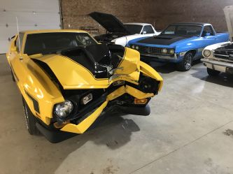 Collision repair and insurance work for Mustangs and classic cars