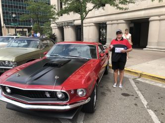 Won best in the 65-73 Mustang class at Capitol area Lansing show.
