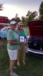 People's choice award with the mayor of Williamston.